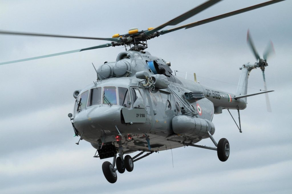 India Is Reportedly Finalizing Negotiations To Buy 48 Additional Mi-17 Helicopters from Russia