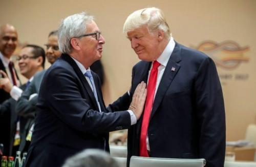 """No Weakness"" On Tariffs Vows Trump Ahead Of Critical EU Trade Meeting"