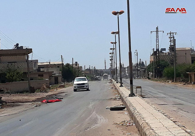 Civilians Are Leaving Militant-held Area In Southern Syria. Russia And US Discuss Situation In Region