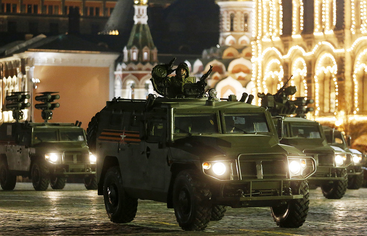 Russian Defense Firm To Offer Tigr Armored Vehicles With Enhanced Anti-Mine Protection