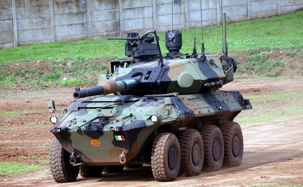 Italian Ministry Of Defense Signs Contract For 10 Centauro II Wheeled Tank Destroyers