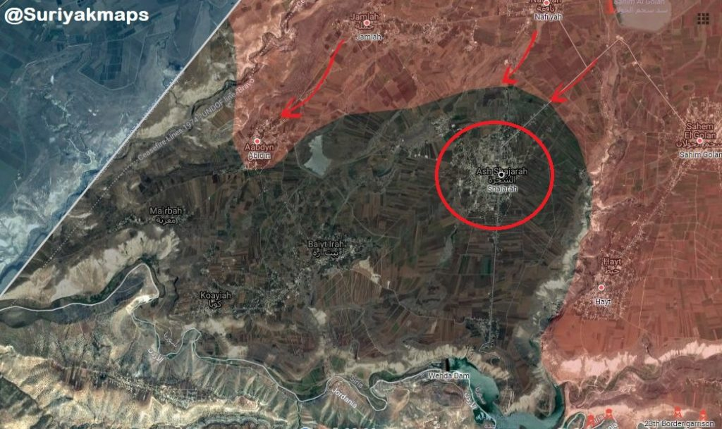 Government Forces Are Storming ISIS-held Town Of Shajarah In Southern Syria