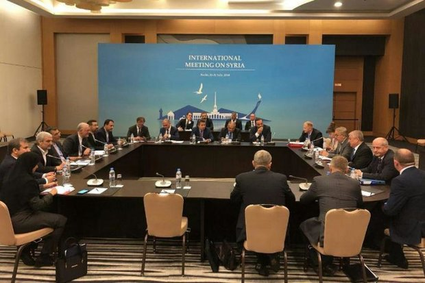 Final Statement By Iran, Russia And Turkey After Negotiations On Syrian Conflict In Sochi