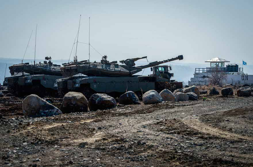 Israel Is Concerned Over Syrian Army Advance East Of Golan Heights, Threates To Strike Syrian Troops