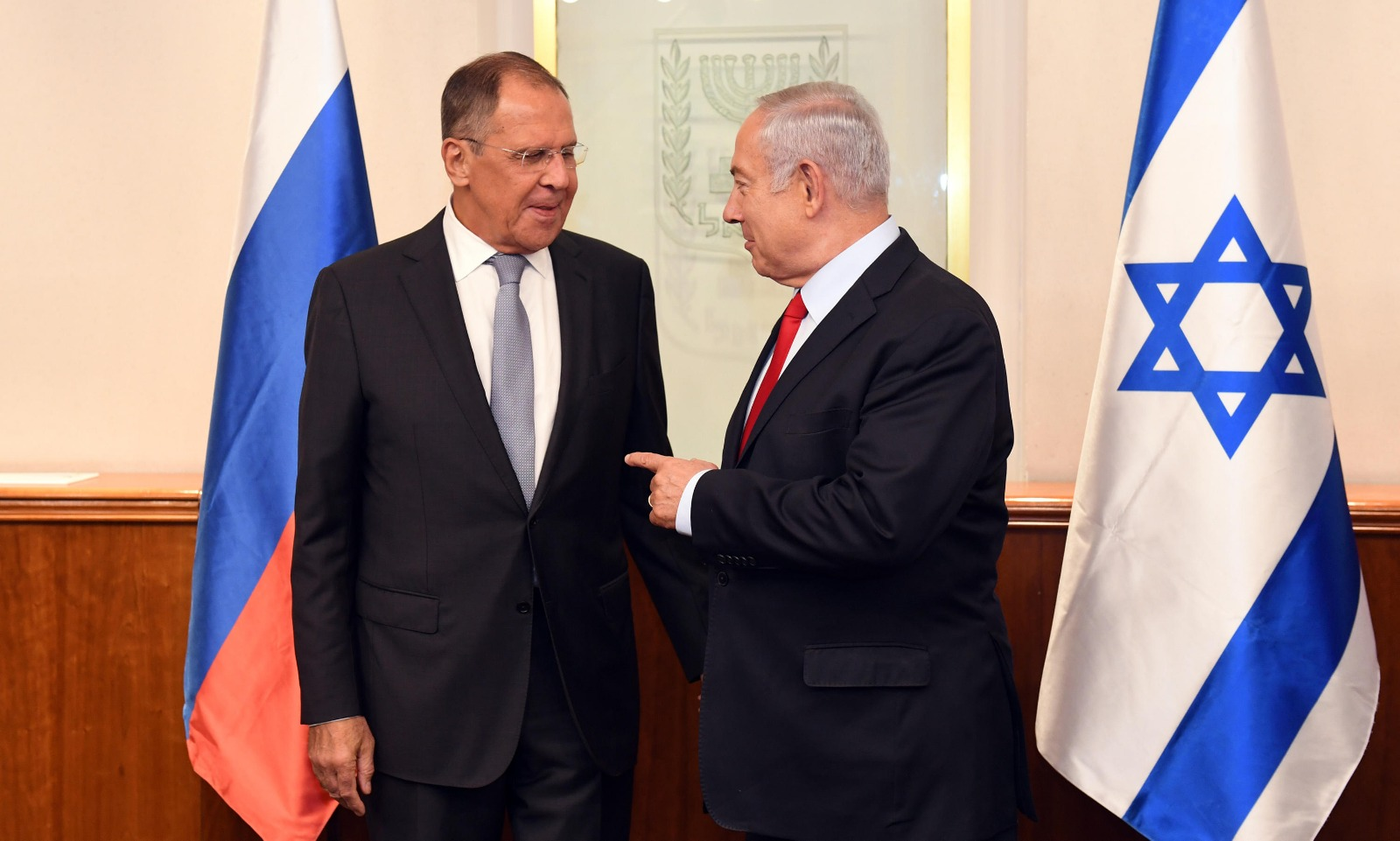 Russian And Israeli Top Officials Meet In Jerusalem Sparking New