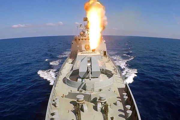 Russian Warships To Participate In Missile Firing Drills Off Syria's Coast