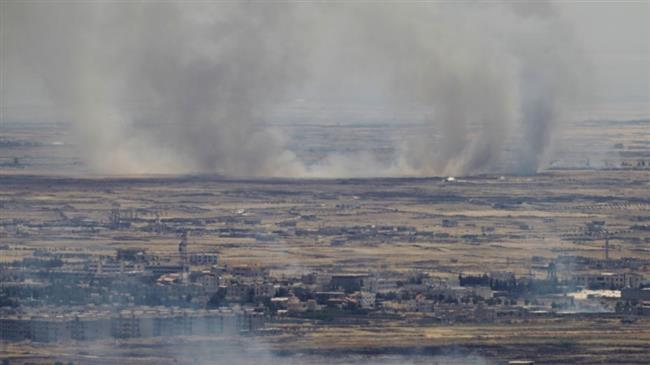 Israeli Forces Strike Syrian Forces Positions East Of Golan Heights