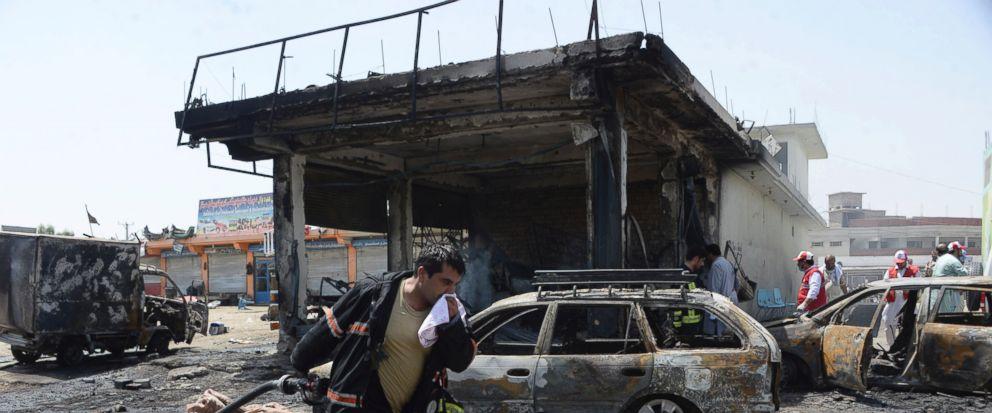 12 Killed In ISIS Suicide Bombing In Eastern Afghanistan