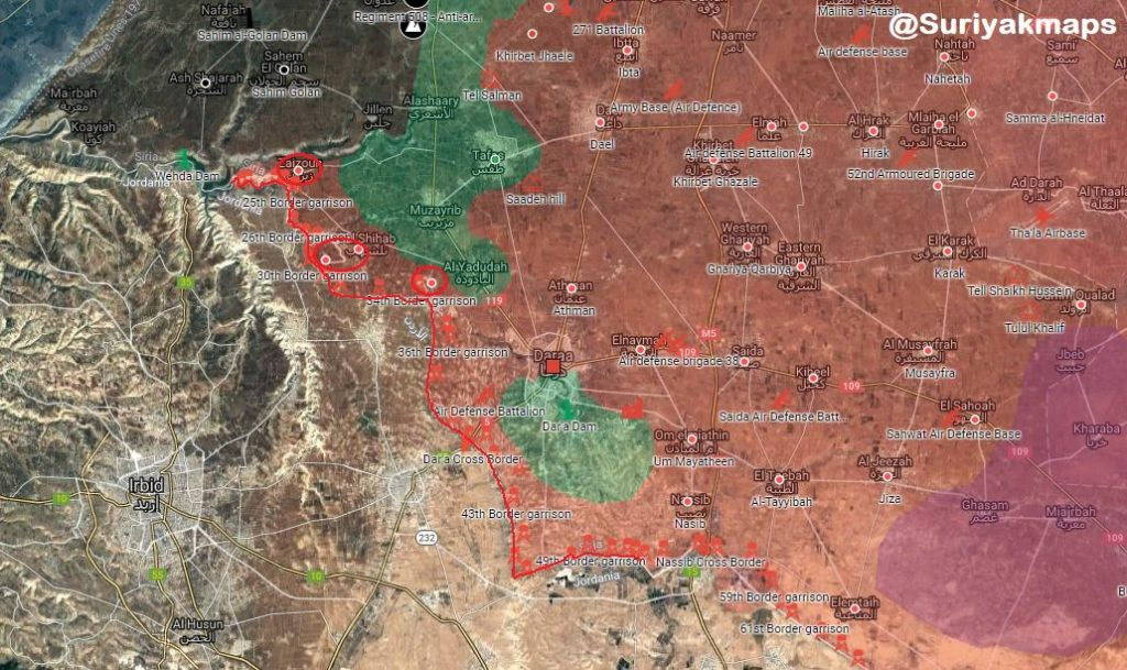 ISIS Suicide Bomber Targets Syrian Army Troops In Western Daraa. Casualties Reported