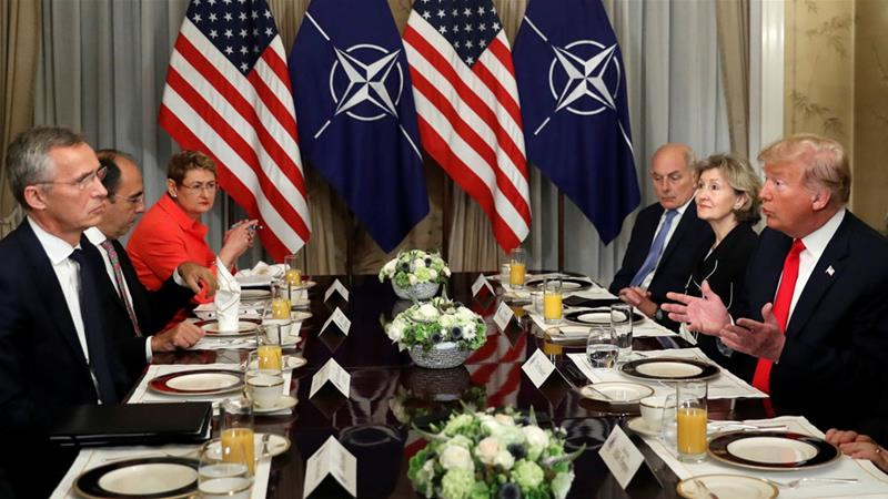 "NATO States Summit Declaration Slams Russian And Iranian ""Destabilising"" Activities"
