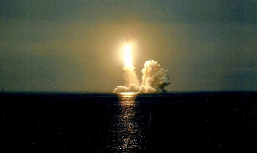 New Bulava Missile Enters Service with Russian Navy
