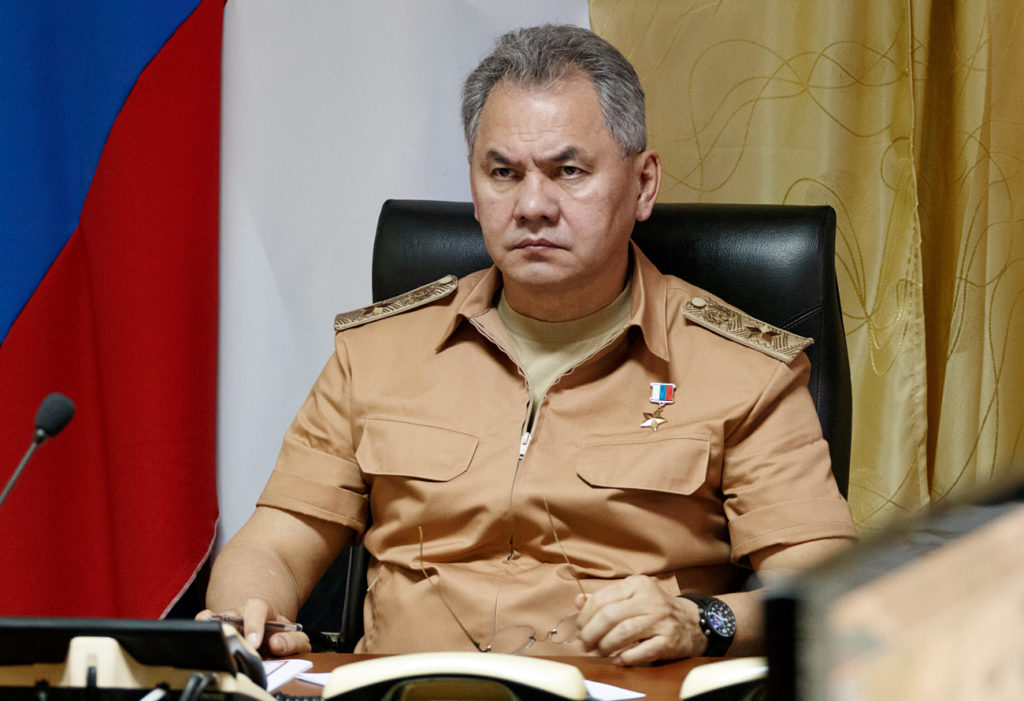 Russian Defense Minister Army General Sergei Shoigu's interview with Italy's Il Giornale
