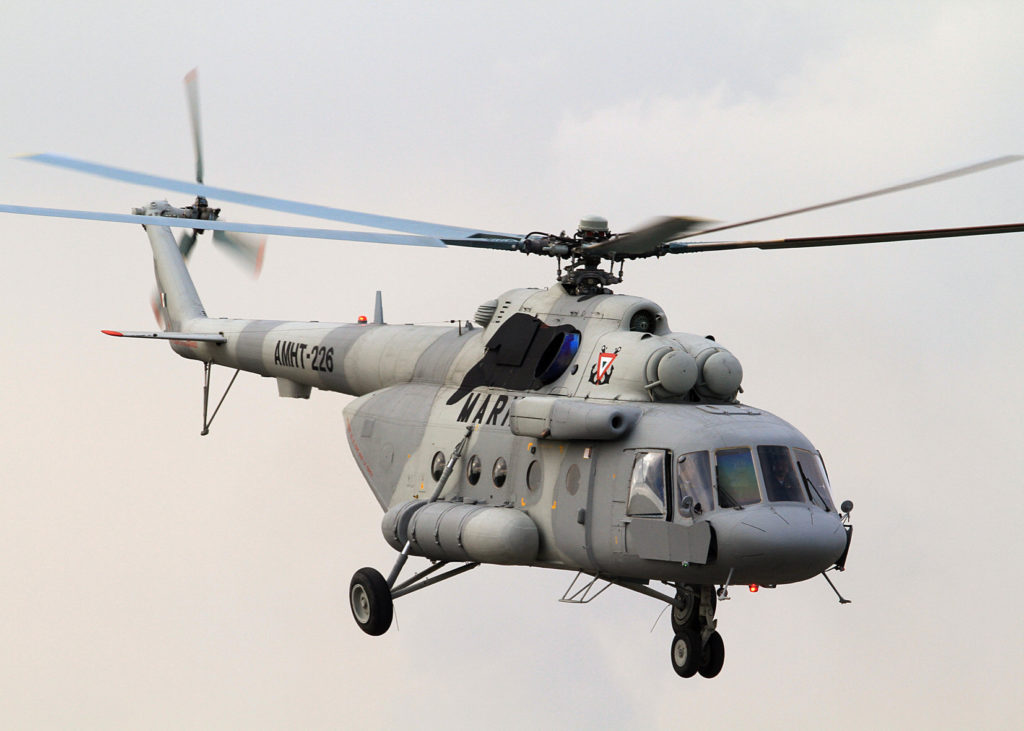 Russia Negotiating Deal To Sell 48 Mi-17 Military Helicopters To India