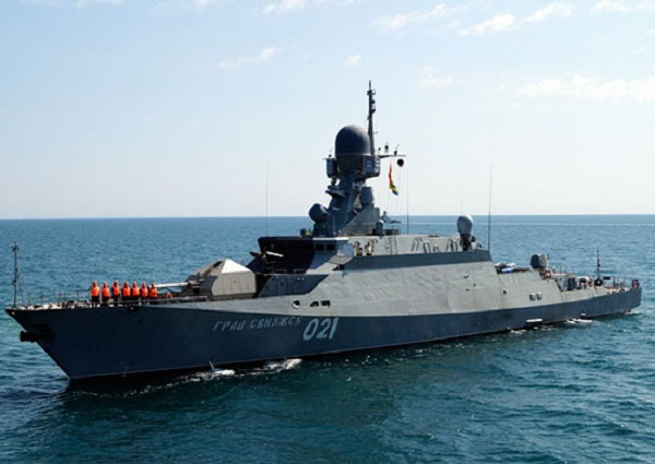 Russia Lays Keel Of 12th Buyan-M-class Corvette Armed With Kalibr Missiles