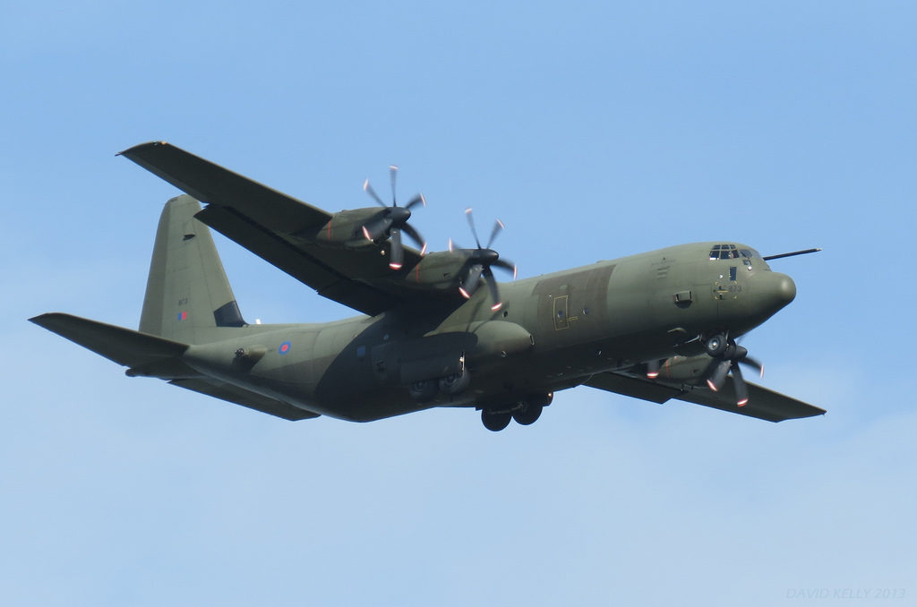 British C-130J-30 Military Transport Aircraft Crash-Landed In Iraq After Picking Up UK And US Troops In Syria
