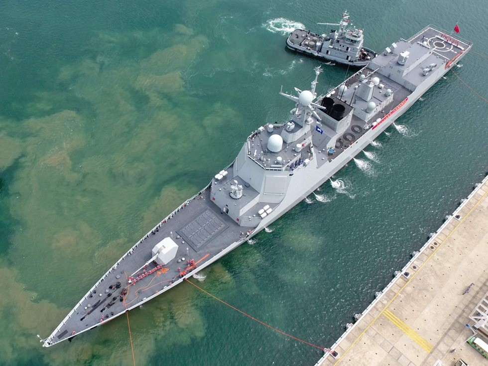Chinese Naval Expansion Hits High Gear