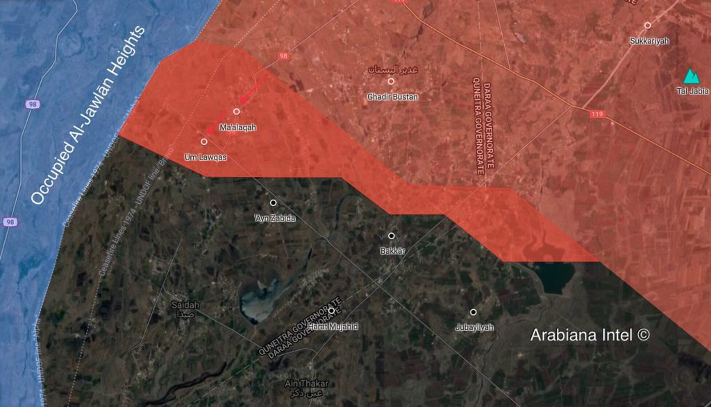 Syrian Army Starts Operation To Defeat ISIS Terrorists East Of Golan Heights (Maps)