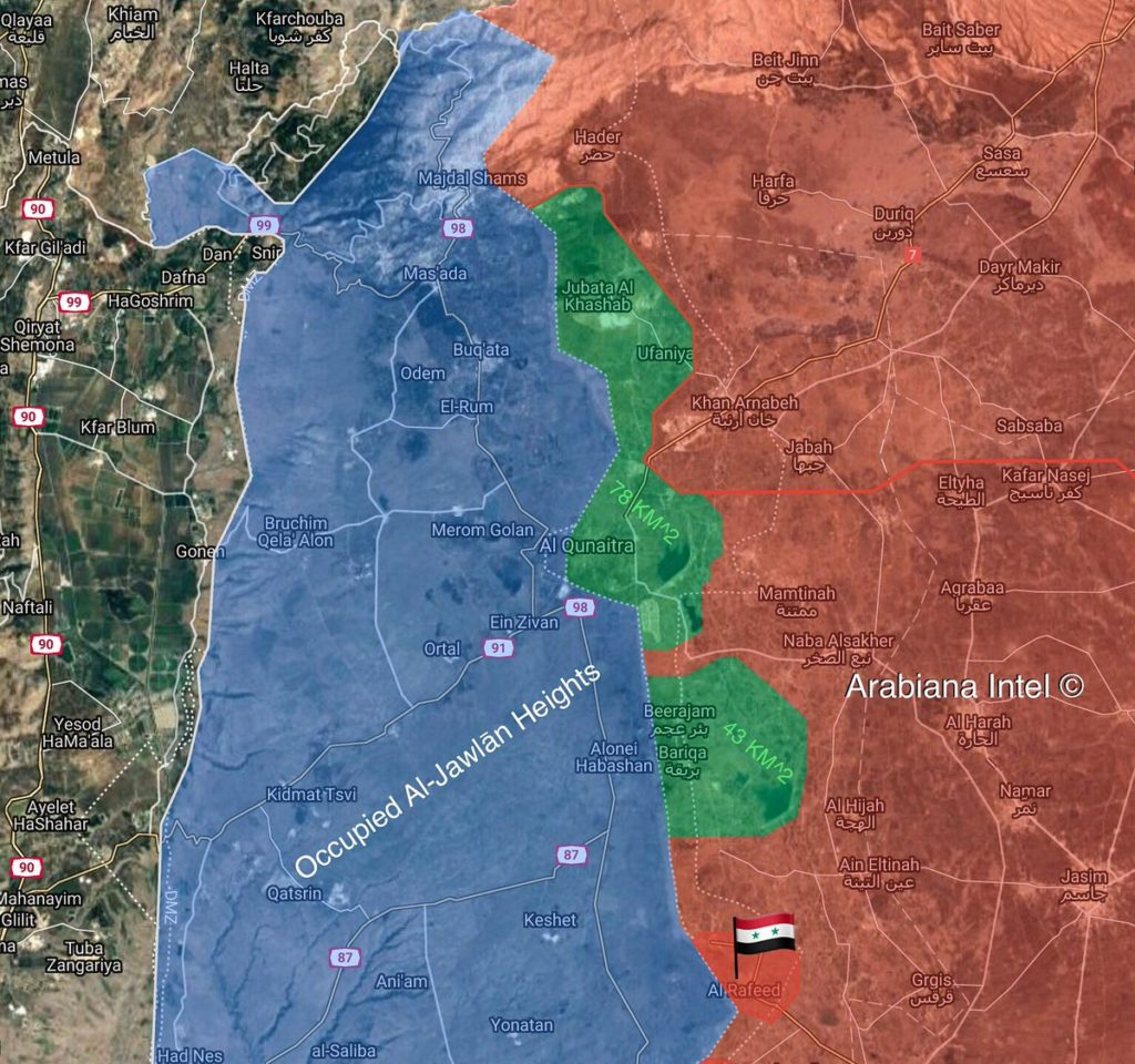 Syrian Army Retakes Golan UN Post From Militants (Map)