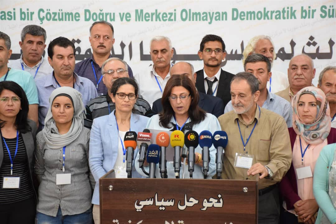 Political Wing Of Syrian Democratic Forces To Open Offices In Government-Held Areas