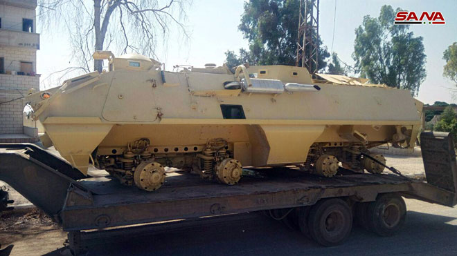 Militants In Southern Syria Handed Over 20 Battle Tanks, 13 Armoured Vehicles To Government Forces: Russian Military