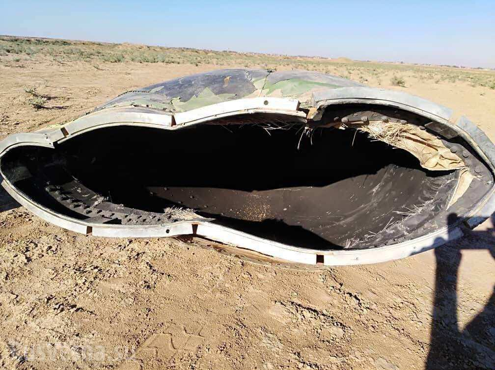 Unidentified Aircraft Crashed In Syria's Al-Hasakah Province (Photos, Videos)