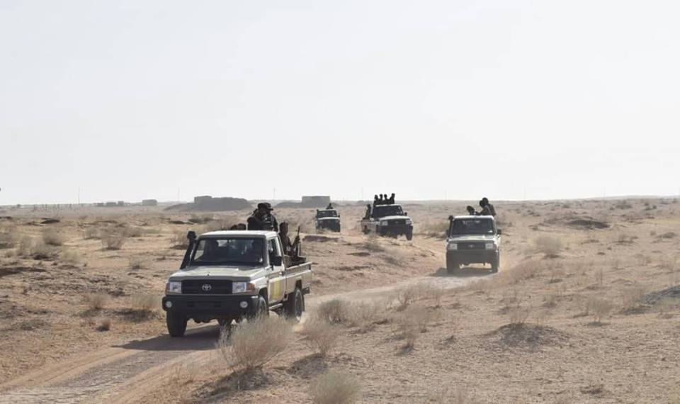 Iraqi Millitary and Popular Mobilization Units Launch Security Operation In Western Anbar Desert