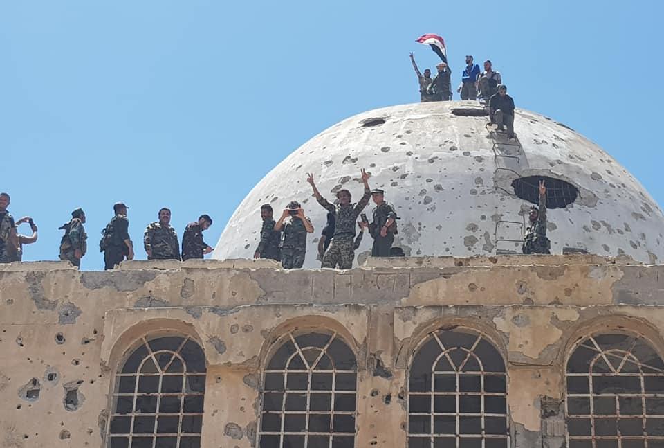 Syrian Millitary Enters Key Town Near Golan Heights (Photos)