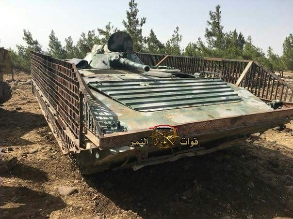 Al-Quneitra Militants Hand Over Their Heavy Weapons To Syrian Army (Photos)