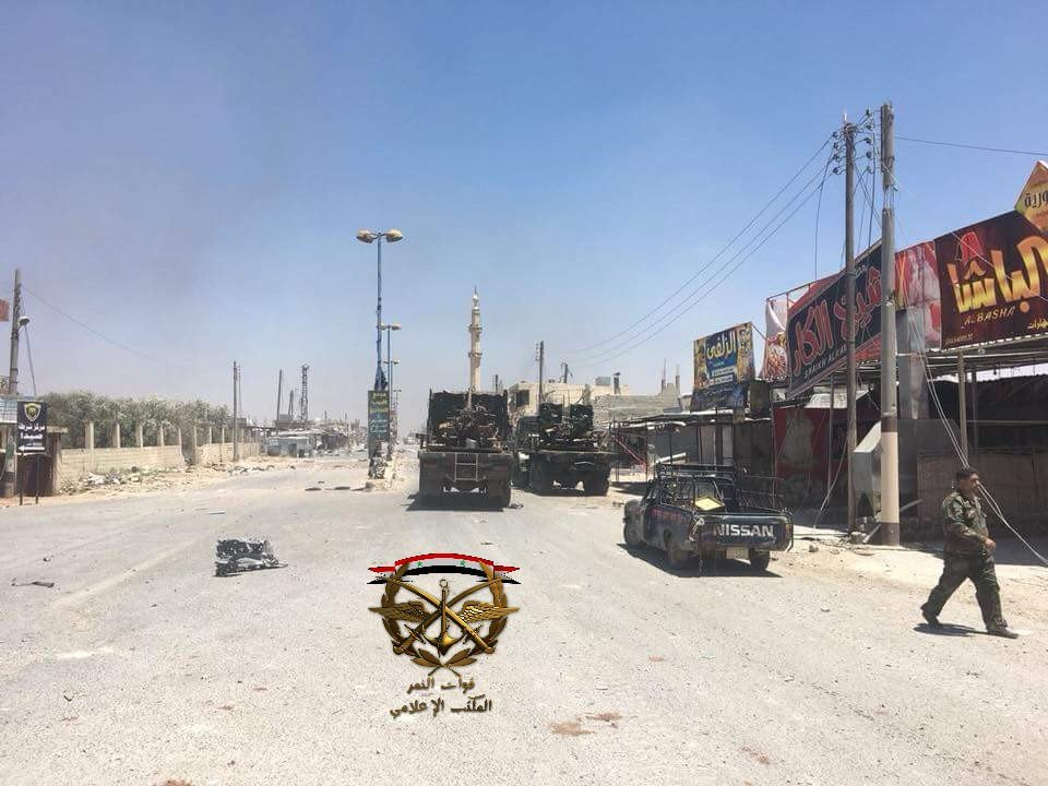 In Photos: Government Troops Liberate Saida Town In Syira's Daraa Province