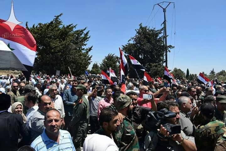 Government Troops, Locals Raise Syrian Flag In Quneitra City (Photos, Map)