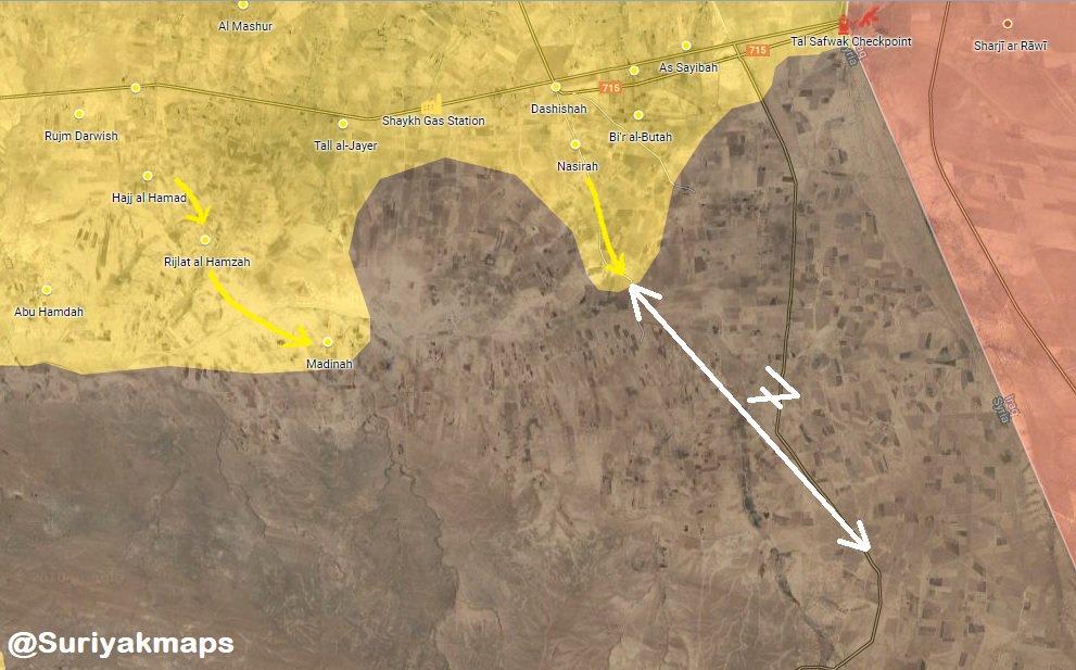Syrian Democratic Forces Advance South Of Dashisha (Video, Map)