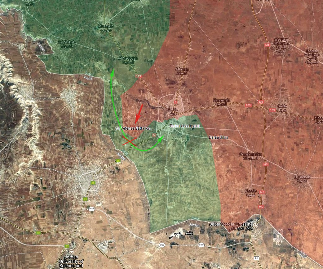 Syrian Military Besieges Militants In Daraa City (Photos, Map, Videos)