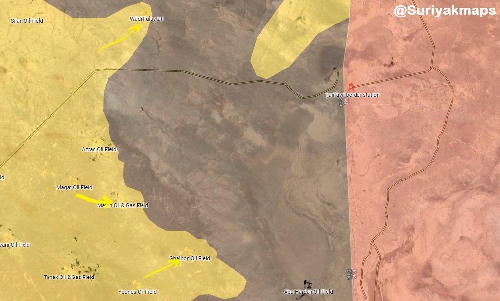 Syrian Democratic Forces Advance In Southeastern Deir Ezzor