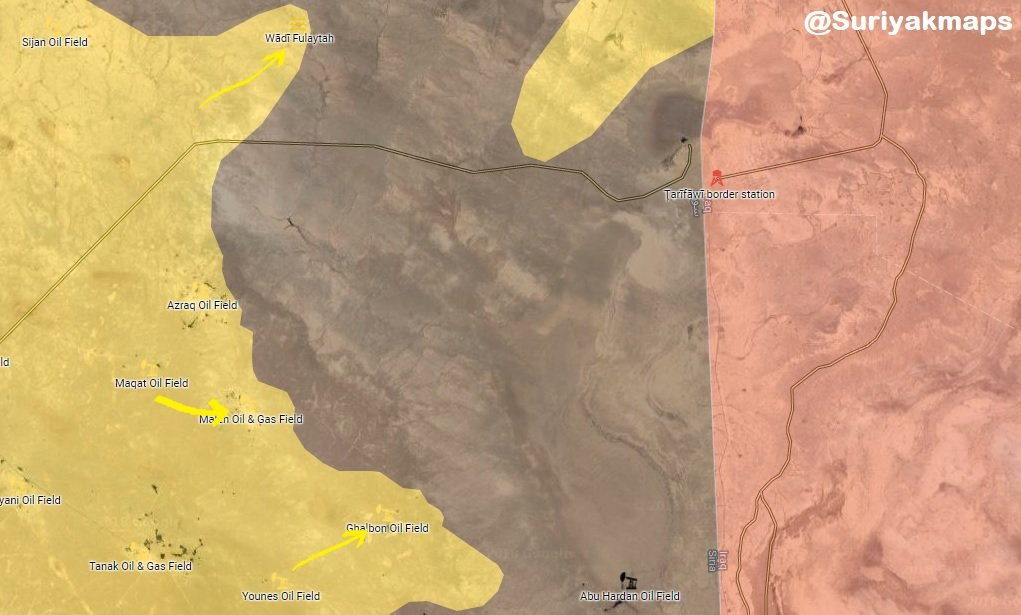 Syrian Democratic Forces Advance In Southeastern Deir Ezzor