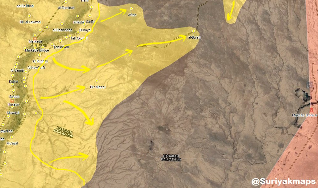 US-backed Forces Capture Sixteen Villages From ISIS In Eastern Syria (Map)