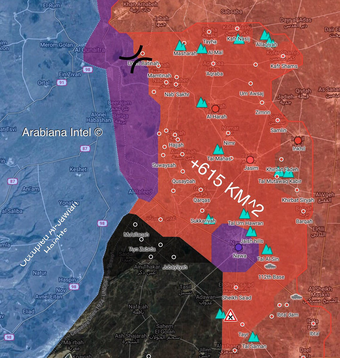 ISIS Captures Six New Villages From Opposition Forces In Southern Syria (Map)