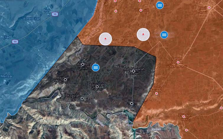 Syrian Millitary Captures Four News Villages From ISIS In Western Daraa