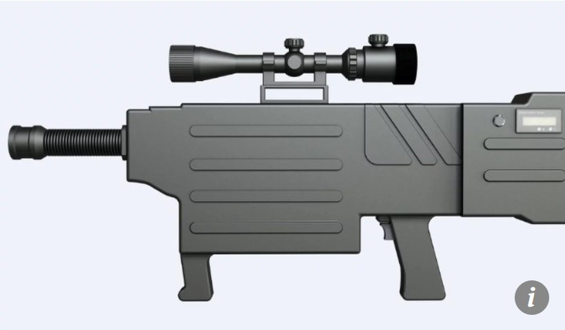China brings Star Wars to life with 'laser AK-47' that can set fire to targets a kilometre away