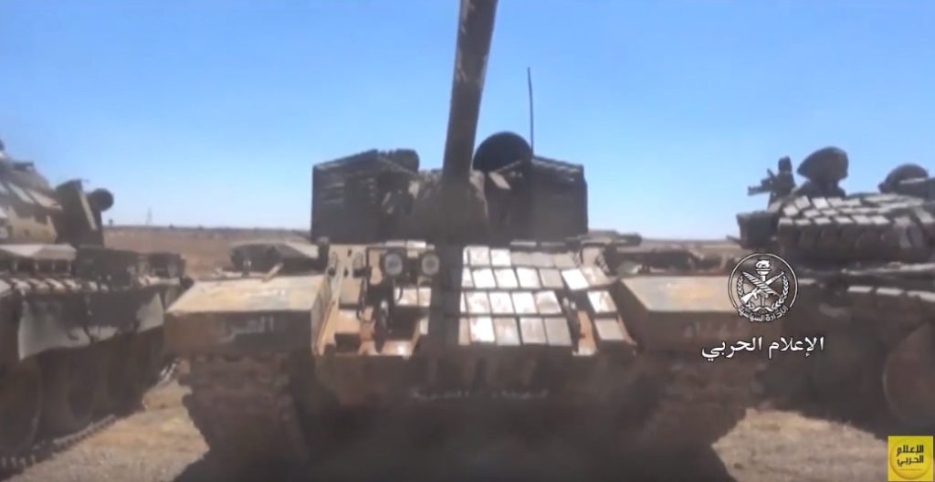 Video: Battle Tanks, Armoured Vehicles, Anti-Tank Guided Missiles And Other Weapons Captured By Syrian Troops