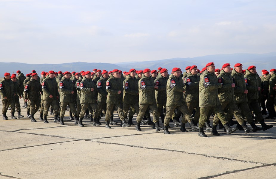 Russia Withdraws 100 Servicemen Of Military Police From Syria