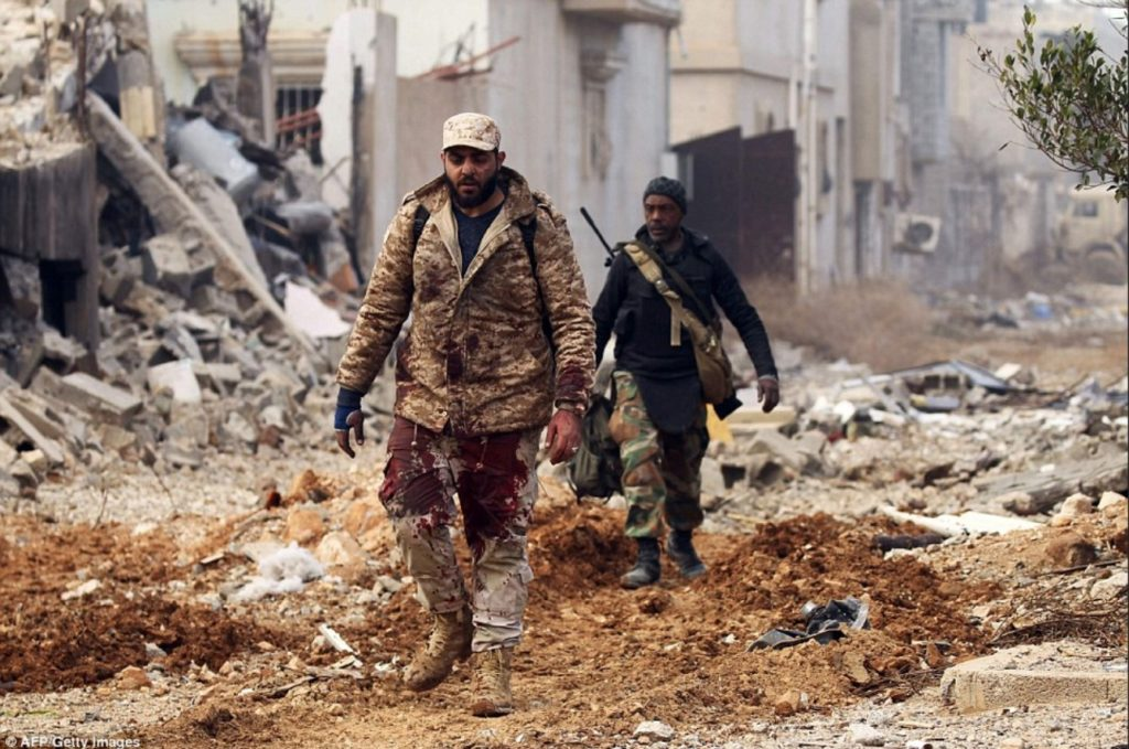 Libyan National Army Sruggles Wih Security Issues After Liberation Of Derna