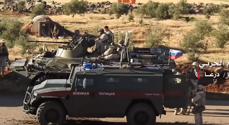 Russian Military Police Troops Enter Bushra Al-Sham Town In Southern Syria (Videos, Map)