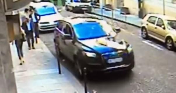 Thief Seizes IDF Attaché's Car With Secret Files Inside (Video)