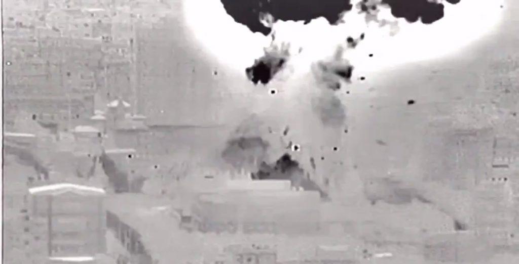 Israeli Warplanes Strike Targets In Gaza Strip. Hamas Responds (Video)