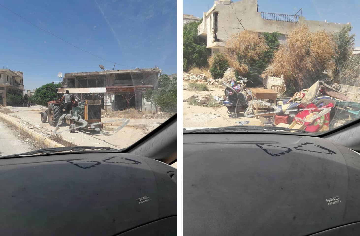 After Forcing The Civilians Out, Militants Are Looting al-Fu'ah and Kafriya (Photos)