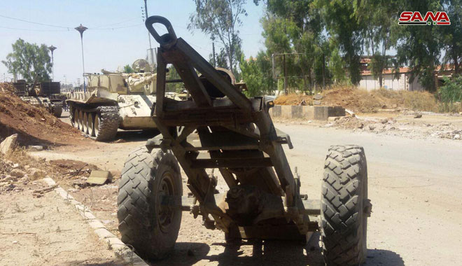 Free Syrian Army Hands Over More Heavy Weapons In Daraa City (Photos)