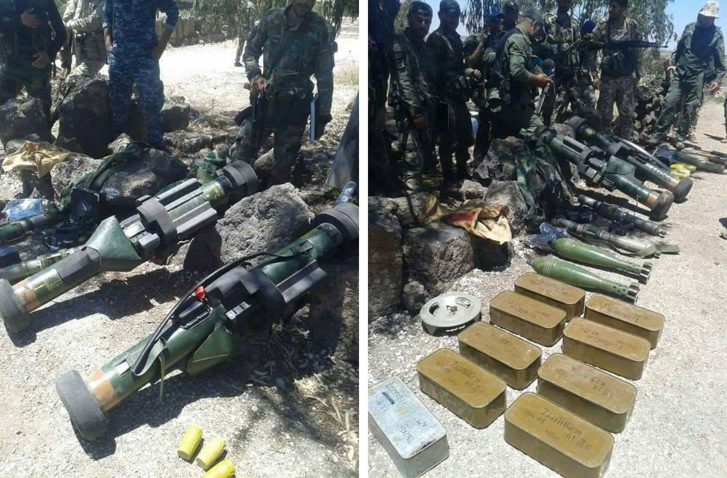 Syrian Forces Seize French Made Anti-Tank Weapons In Daraa