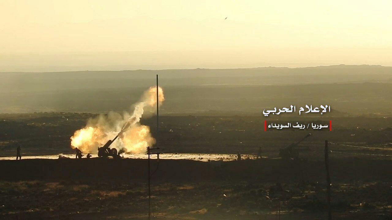 Syrian Military Foils Attack Of ISIS In Eastern Al-Suwayda
