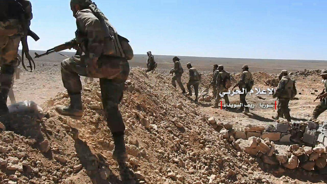 Syrian Millitary And Local Militia Repel New Attack Of ISIS In Eastern Al-Suwayda