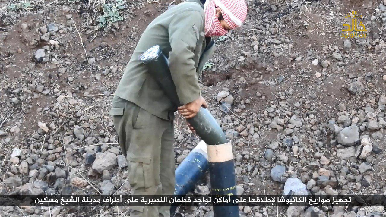 ISIS Joins Battle Against Syrian Military In Southern Syria (Photos, Viedo)